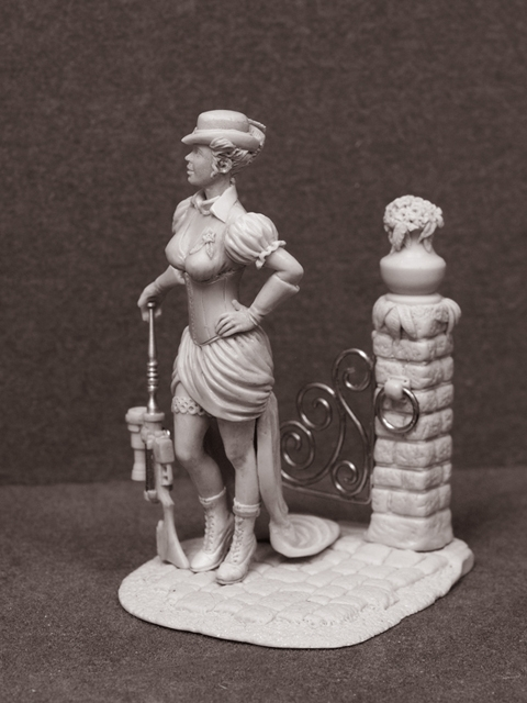 Девушка в стиле НеоВикториана (Фото 2)