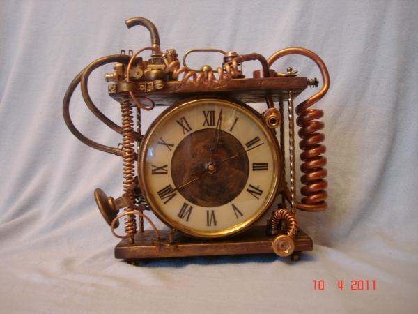 Паровые часы. Вашему вниманию, мои первые  работы. (Фото 2)