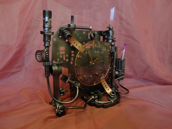 Настольные часы и немного символов Нового Года (Фото 3)