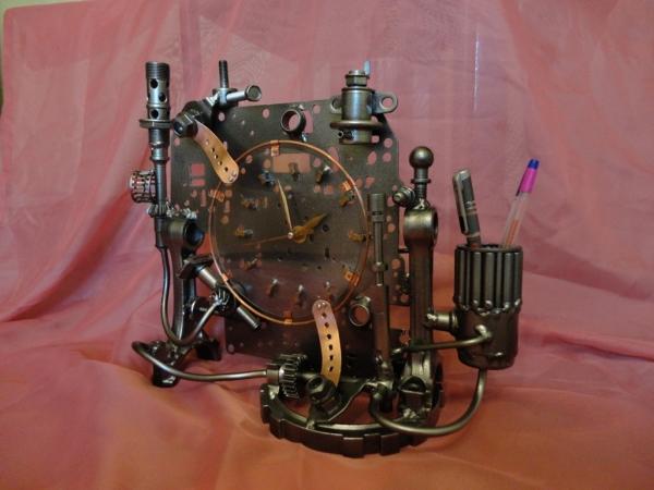 Настольные часы и немного символов Нового Года (Фото 4)