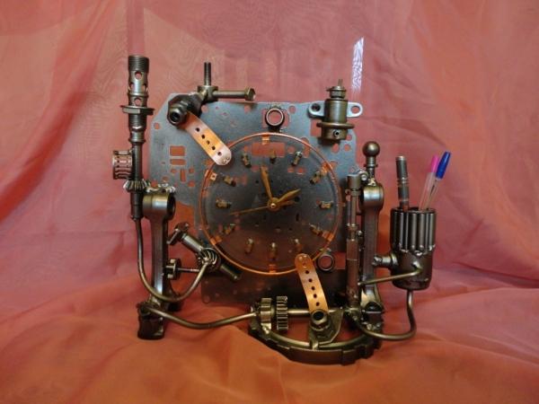 Настольные часы и немного символов Нового Года (Фото 2)