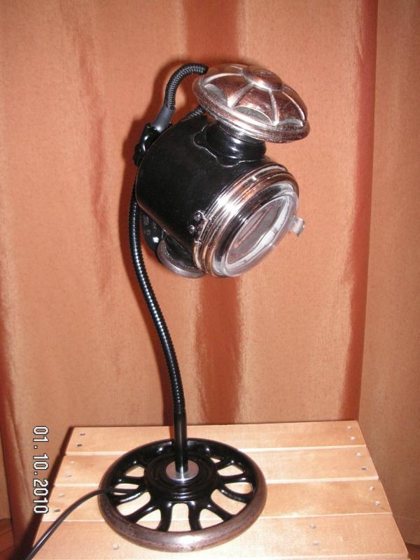 Лампа настольная, галогеновая. (Фото 2)