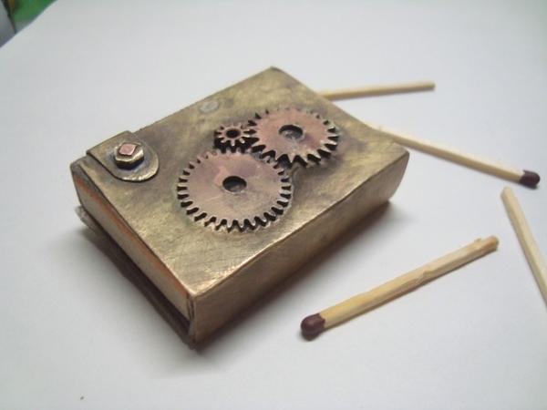 Первые работы.Монокль.Спичечница (Фото 2)