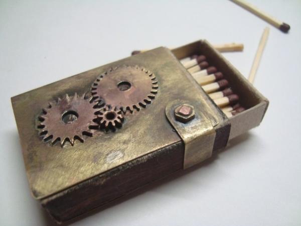 Первые работы.Монокль.Спичечница (Фото 3)