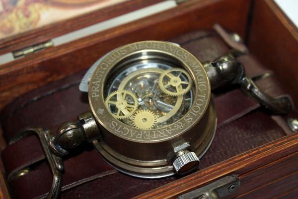 Стимпанк часы от Преториуса. (на конкурс Время)