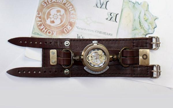 Стимпанк часы от Преториуса. (на конкурс Время) (Фото 10)