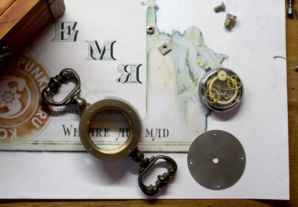 Стимпанк часы от Преториуса. (на конкурс Время) (Фото 5)