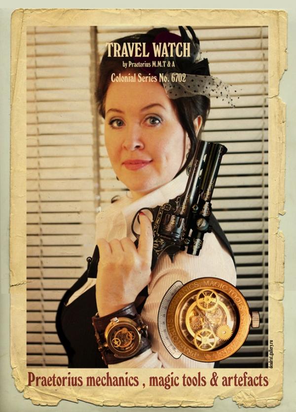 Стимпанк часы от Преториуса. (на конкурс Время) (Фото 11)