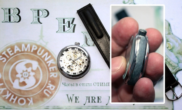 Стимпанк часы от Преториуса. (на конкурс Время) (Фото 2)