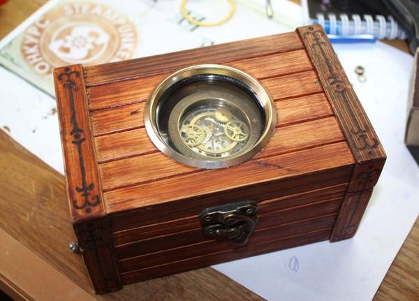 Стимпанк часы от Преториуса. (на конкурс Время) (Фото 12)