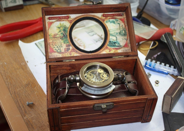 Стимпанк часы от Преториуса. (на конкурс Время) (Фото 13)