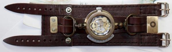 Дизель-стимпанк часы «Praetorius mechanics, magic tools & artefacts» в подарочной коробке.(ПРОДАНЫ) (Фото 3)