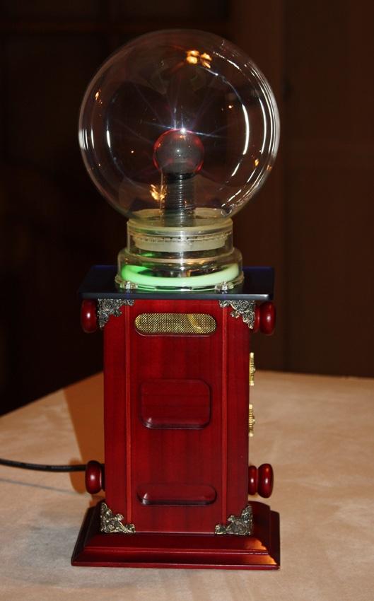 "Тесла-Стимпанк лампа. ""Плазма-шар""(ПРОДАНО) (Фото 3)"