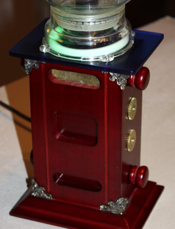 "Тесла-Стимпанк лампа. ""Плазма-шар""(ПРОДАНО) (Фото 4)"