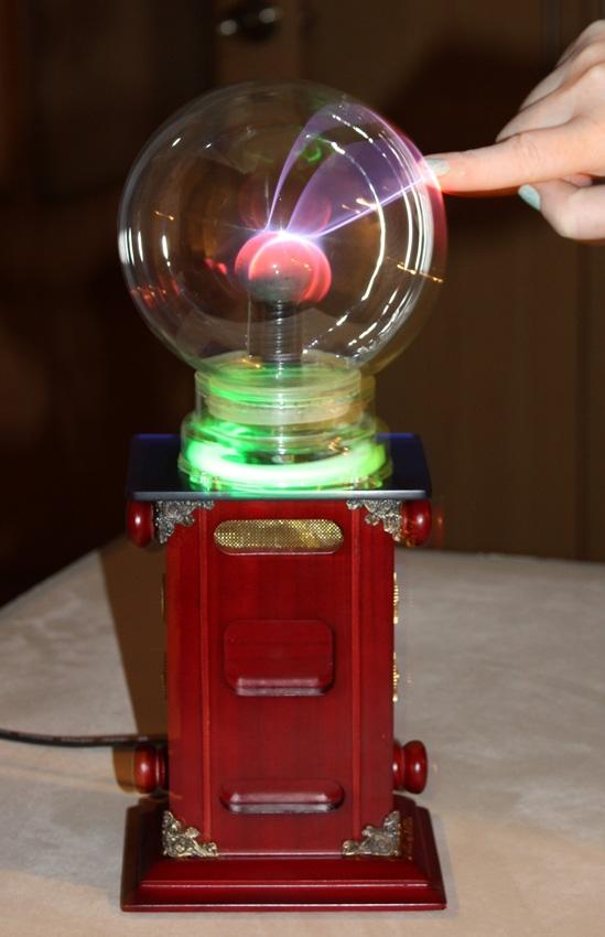 "Тесла-Стимпанк лампа. ""Плазма-шар""(ПРОДАНО) (Фото 2)"