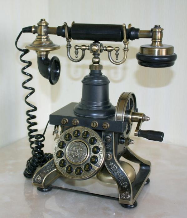 стимпанк- телефон