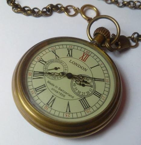Карманные часы для солидного стим-джентьмена