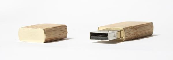 Флеш-накопитель из бамбука (Фото 5)
