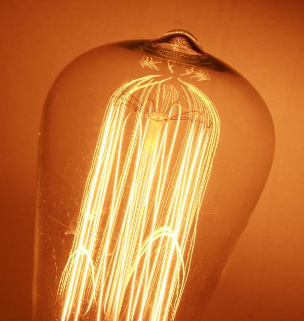 Светильник с лампой Эдисона. (Фото 8)