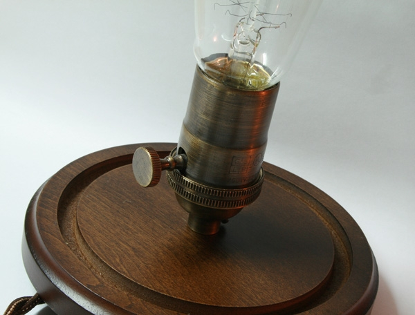 Светильник с лампой Эдисона. (Фото 7)