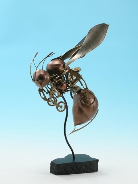 Биомеханические скульптуры Nozomu Shibata и не только. (Фото 8)
