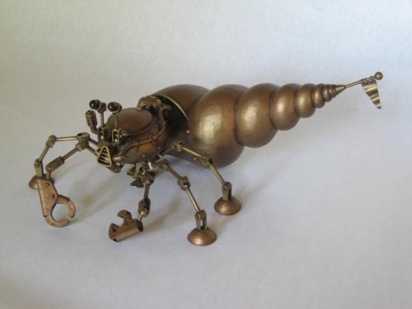 Биомеханические скульптуры Nozomu Shibata и не только. (Фото 4)
