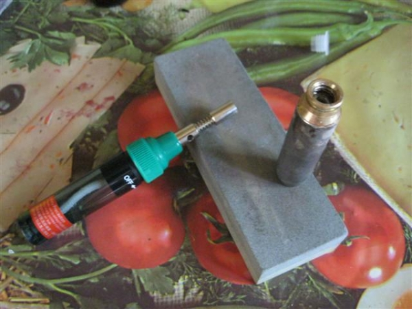 бензиновая стимпанк зажигалка, плагиат(часть 1)