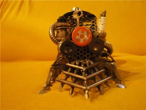 Сороконожка на паровом двигателе с рекуператором. (Фото 5)