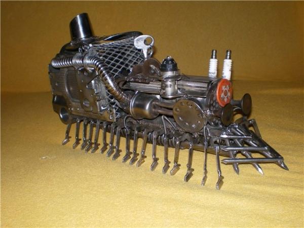 Сороконожка на паровом двигателе с рекуператором. (Фото 2)
