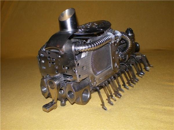 Сороконожка на паровом двигателе с рекуператором. (Фото 3)