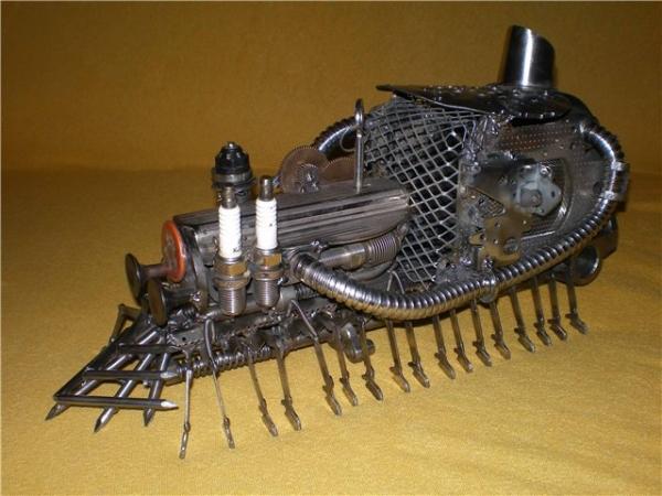 Сороконожка на паровом двигателе с рекуператором. (Фото 4)