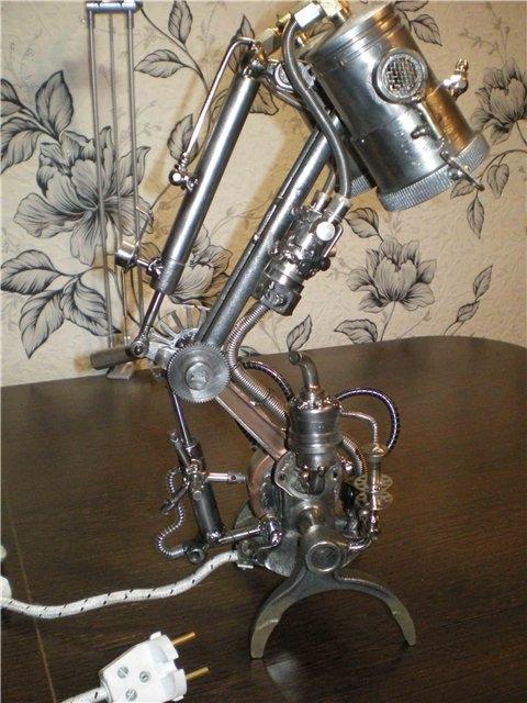 Настольная лампа. Дизель. (Фото 6)