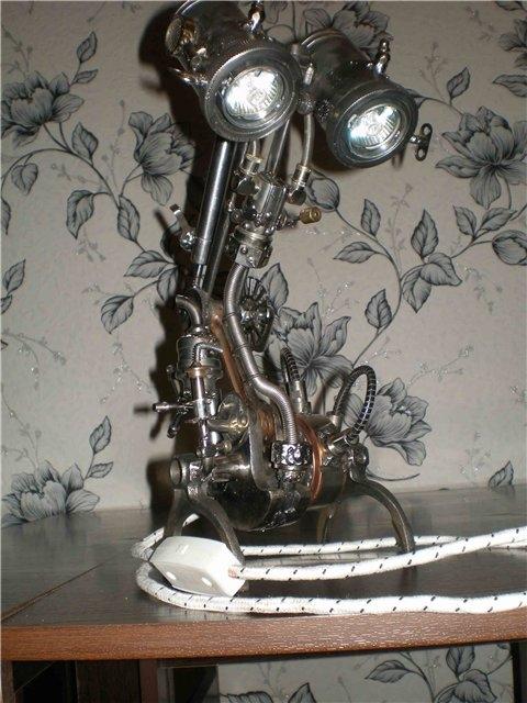 Настольная лампа. Дизель. (Фото 2)