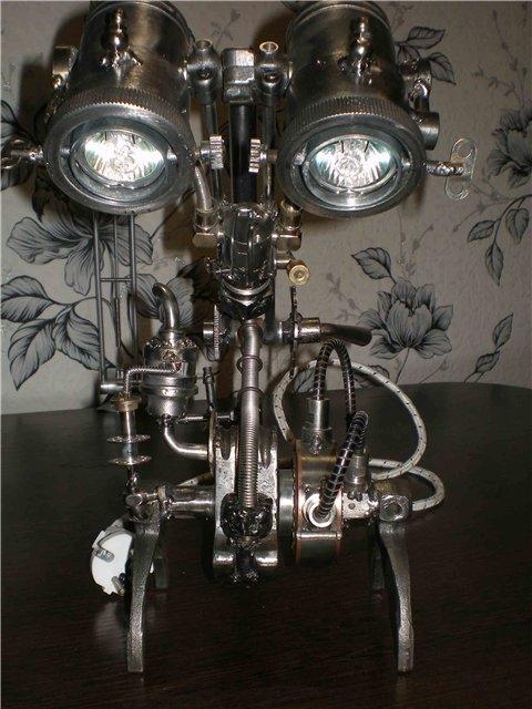 Настольная лампа. Дизель. (Фото 10)