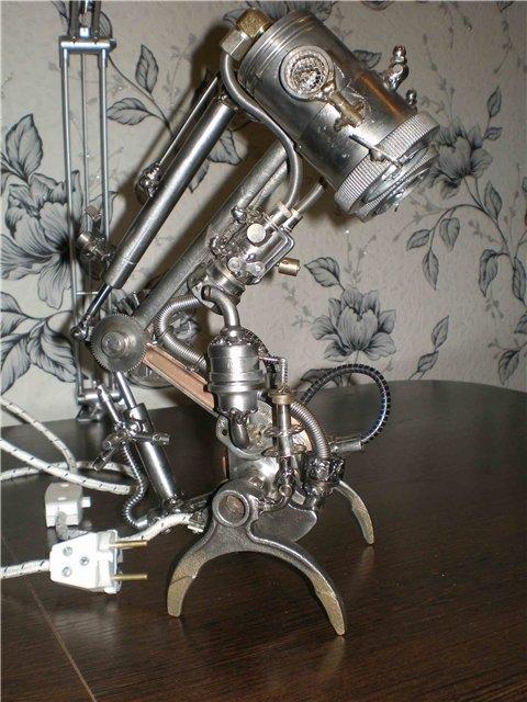 Настольная лампа. Дизель. (Фото 9)