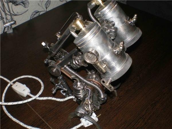 Настольная лампа. Дизель. (Фото 11)