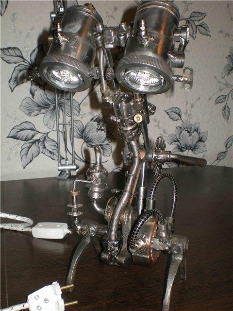 Настольная лампа. Дизель. (Фото 5)