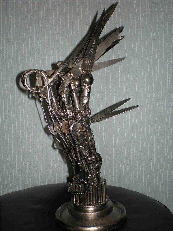 Эдвард - Руки ножницы