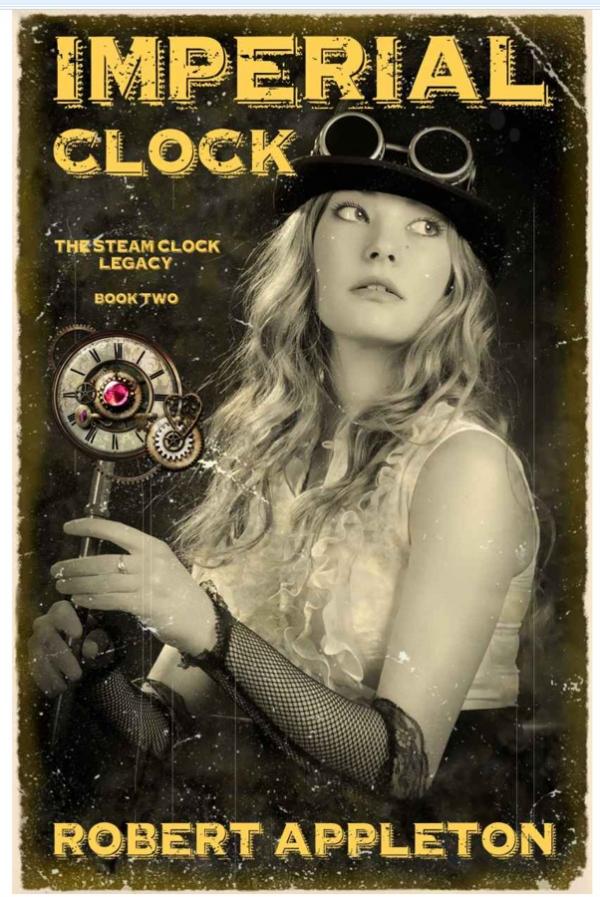 "Robert Appleton ""Imperial Clock"". Книга."