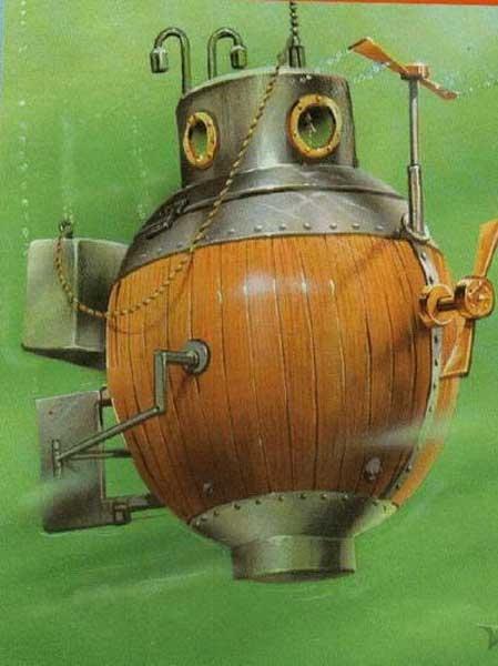 """Подводная лодка """"Черепаха"""" (Фото 5)"""