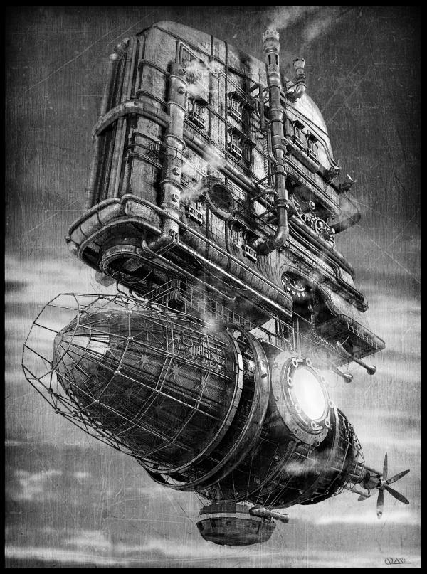 Steam-дирижабль
