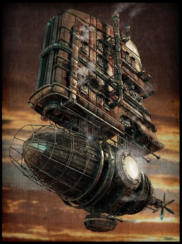 Steam-дирижабль (Фото 2)