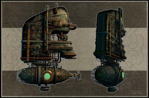 Steam-дирижабль (Фото 3)