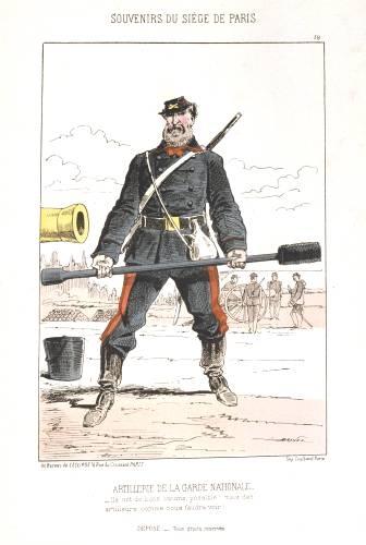 Армейские карикатуры эпохи пара. Жюль Ренар( Дранер). (Фото 3)
