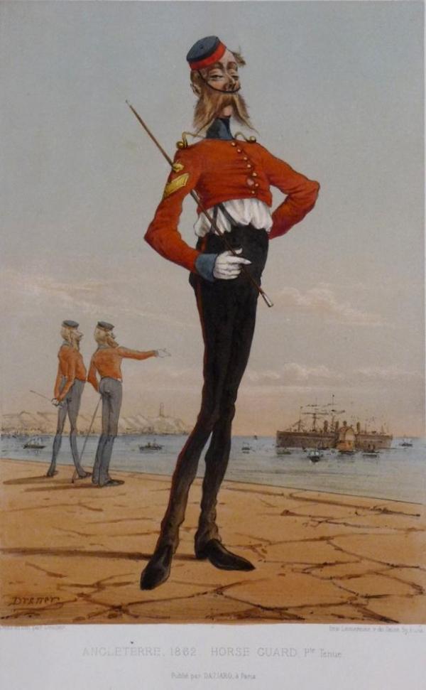 Армейские карикатуры эпохи пара. Жюль Ренар( Дранер). (Фото 2)