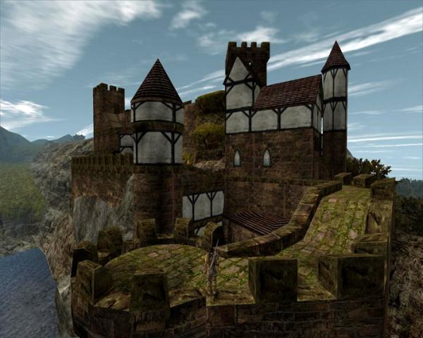 Типичный замок мира Готики. Мод Вторжение