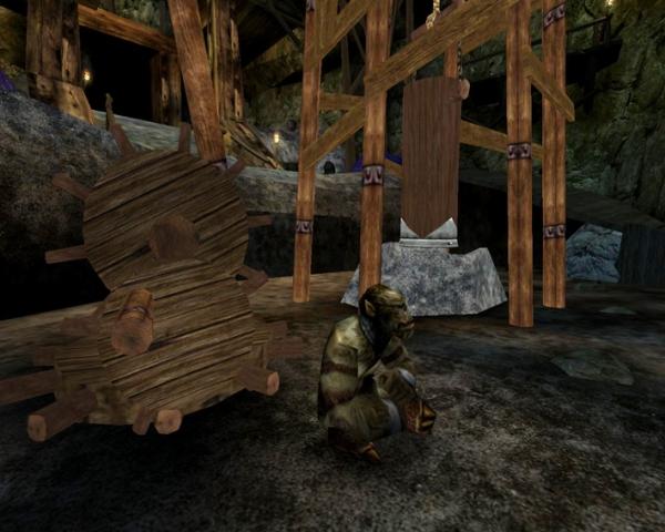 Дробилка для руды с орочьим приводом