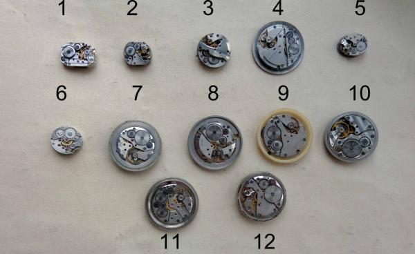 Новое поступление часовых механизмов для декорирования (Фото 2)