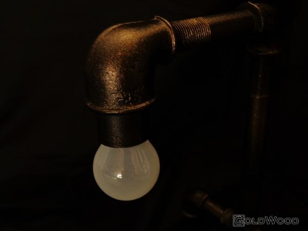 "Стимпанк лампа ""Монолит"" (Фото 2)"