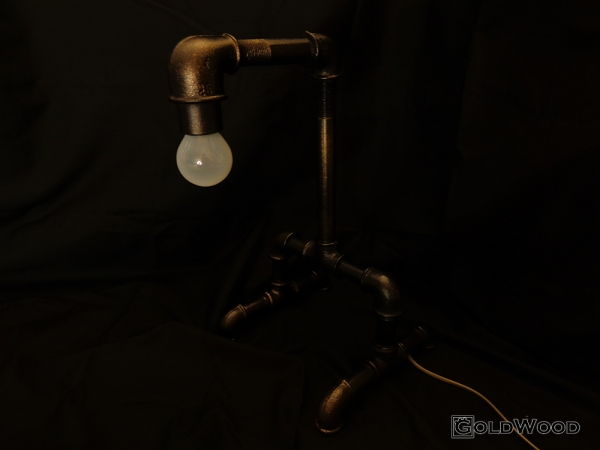 "Стимпанк лампа ""Монолит"""